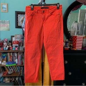 🌸Unique Orange Calvin Klein Jeans Capri